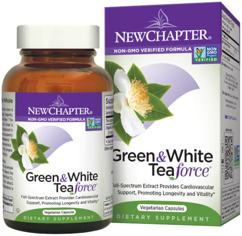 New Chapter Green and White Tea  60 Capsules