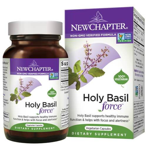 New Chapter Holy Basil Force  120 Liquid Caps