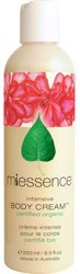 Miessence Intensive Body Cream  8.5 oz bottle