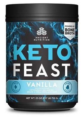 Ancient Nutrition KetoFeast Vanilla 15 Servings