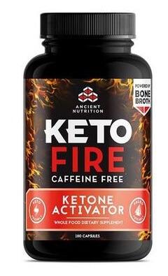 Ancient Nutrition KetoFire Caffeine Free 180 Capsules