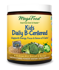 MegaFood Kids Daily B-Centered Nutrient Booster Powder  30 Servings