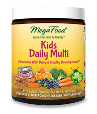 MegaFood Kids Daily Daily Multi Nutrient Booster Powder  30 Servings