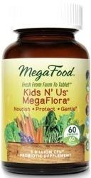 MegaFood Kids N Us MegaFlora  60 capsules
