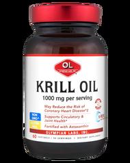 Olympian Labs Krill Oil  1000 mg 60 Softgels