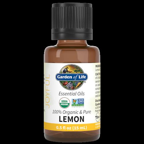 Garden of Life Lemon Organic 15 ML Essential Oil