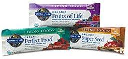 Garden of Life Living Foods Bars  Chocolate Raspberry 1 Bar