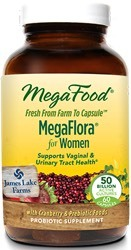 MegaFood MegaFlora for Women  90 Capsules