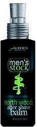 Aubrey Organics Mens After Shave Balm  North Woods 4 oz Pump