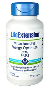 Life Extension Mitochondrial Energy Optimizer with BioPQQ  120 capsules