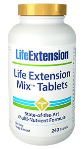 Life Extension Mix  240 Tablets