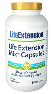 Life Extension Mix  490 Capsules