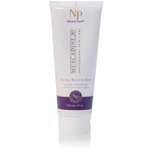 Natures-pearl Muscadine 20 Ultra Rich Lotion