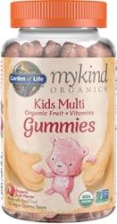 Garden of Life MyKind Organics Kids Gummy Multi  Fruit Flavor 120 Chews