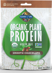 Garden of Life Organic Plant Protein  Smooth Chocolate 280 gram