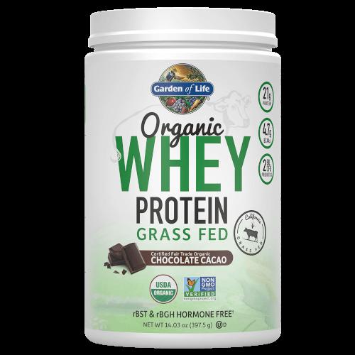 Garden of Life Organic Whey Protein Chocolate 397 gram Grass Fed