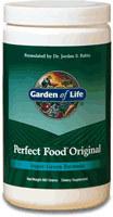 Garden of Life Perfect Food Original  300 Grams Powder