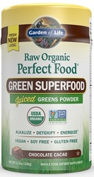 Garden of Life Perfect Food Raw  Organic 285 grams  Chocolate Cacao