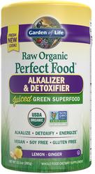 Garden of Life Perfect Food Raw Alkalizer Detoxifier  285 gram Powder