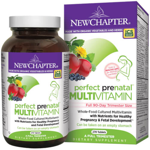 New Chapter Perfect Prenatal  270 Tablets