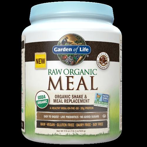Garden of Life Raw Organic Meal  Chocolate Cacao 509 gram