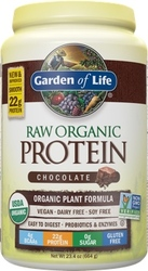 Garden of Life Raw Organic Protein  Chocolate Cacao 664 grams powder