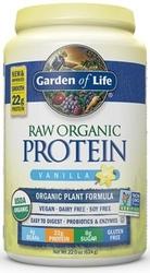 Garden of Life Raw Organic Protein  Vanilla 624 grams powder