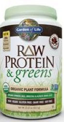 Garden of Life Raw Protein and Greens  611 gram Chocolate