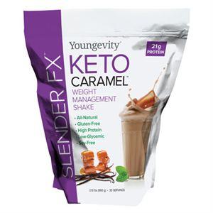 Youngevity Slender FX  Keto Caramel  Weight Management Shake