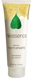 Miessence Toothpaste Lemon 5.3 oz Tube