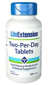 Life Extension Two Per Day Tablets  120 Veg Tablets