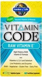 Garden Of Life Vitamin Code Raw E Complex  60 Capsules