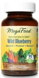 MegaFood Wild Blueberry  90 Tablets