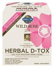 Garden of Life Wild Rose Herbal D Tox  1 Kit